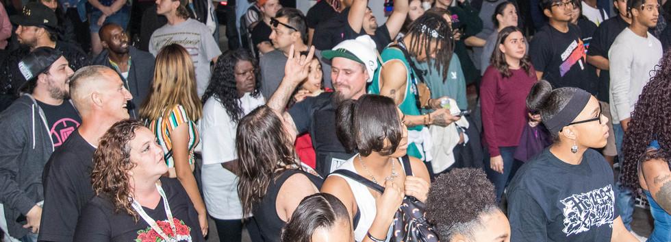 Arizona Hip Hop Festival Crowd