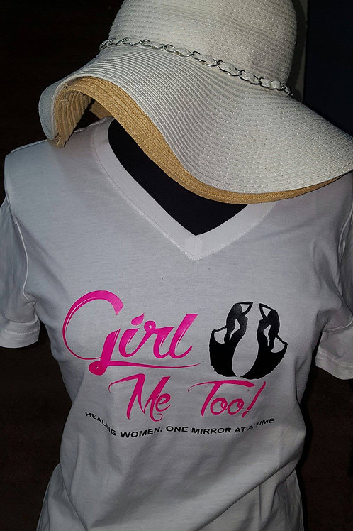 Girl Me Too Logo Shirt