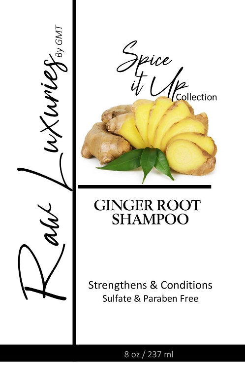Ginger Root Shampoo