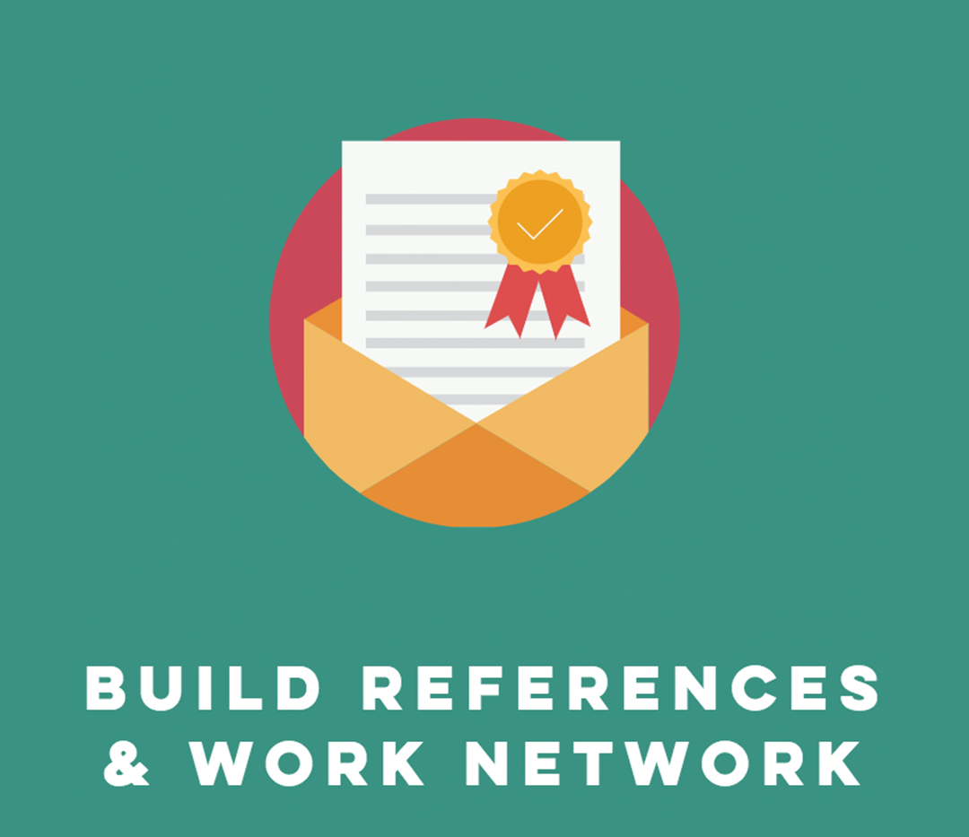 References and CV building