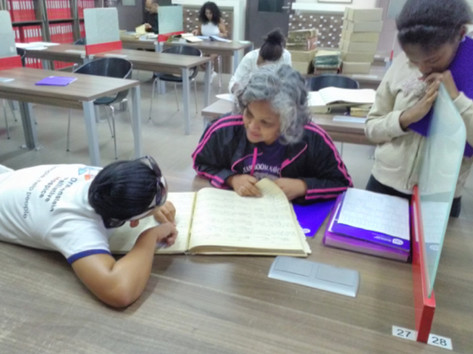 Researching family history at the archives