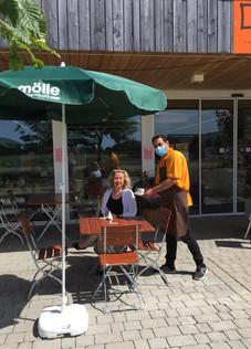Endlich! Café Nepomuk ist wieder geöffnet!