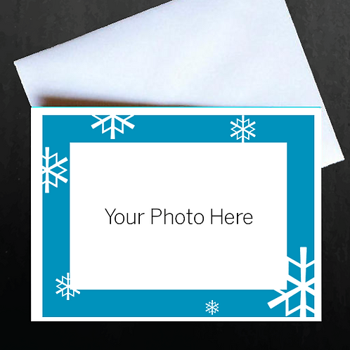 Pack of 100 Custom Holiday Greeting Cards