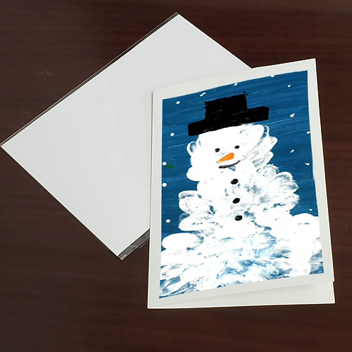 Pack of 50 Custom Holiday Greeting Cards