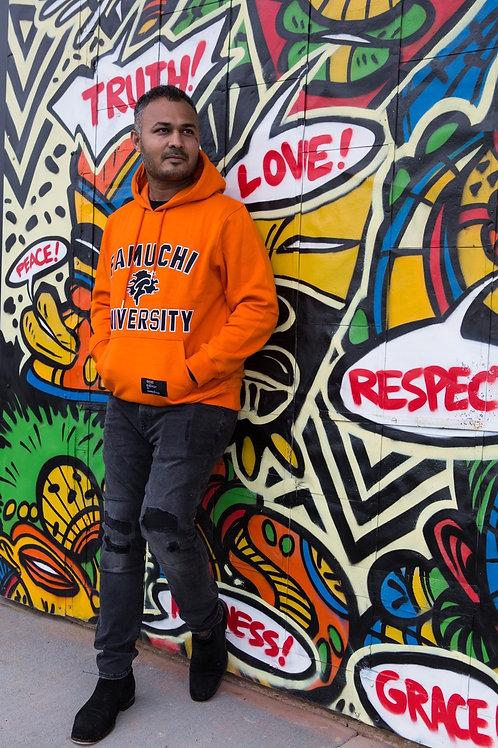 Orange Famuchi University Hoodie