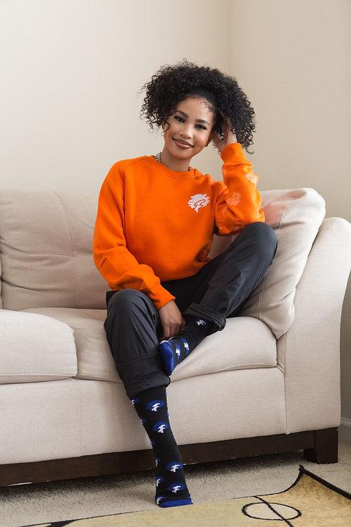 I wear my Tree on my Sleeve (Orange )
