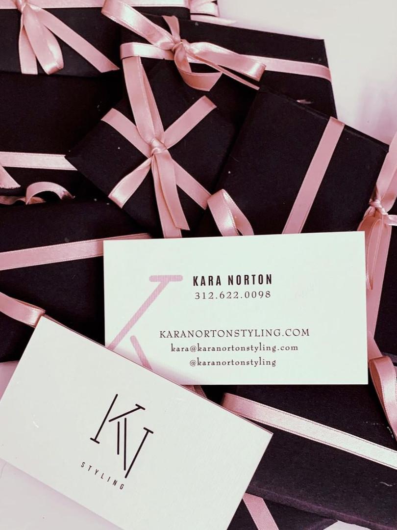 Branding for Kara Norton Styling