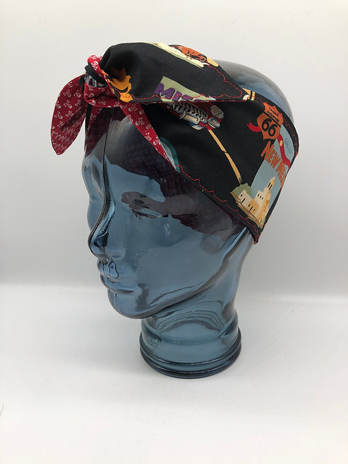 Alexander Henry 'Route 66' Headscarf