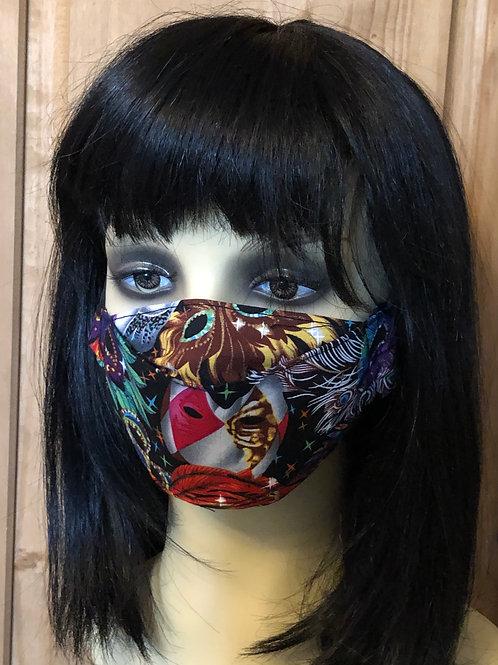 Carnival Mask 3D Face Mask XXS (5-7)