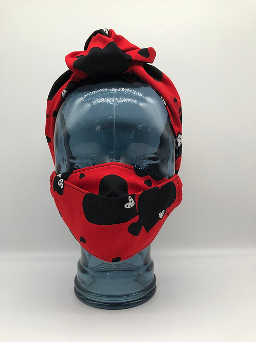 Heart Attack 3D Face Mask