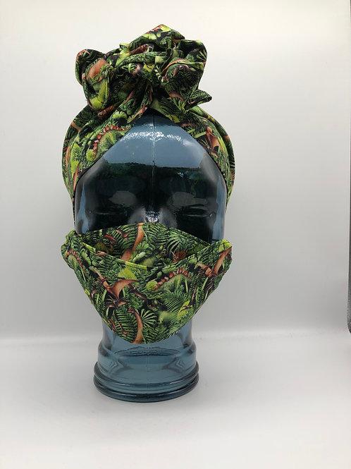 Dino World 3D Face Mask