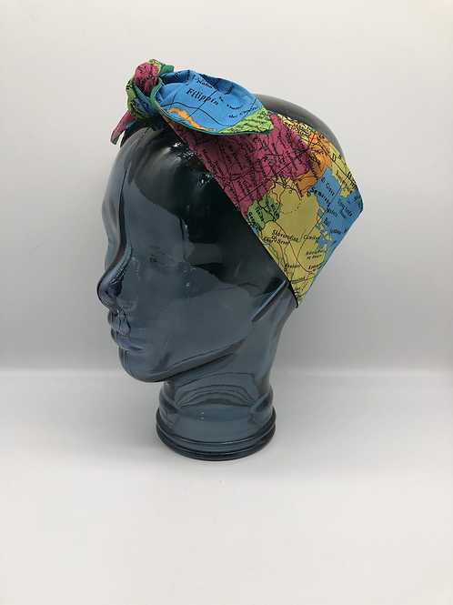Bon Voyage Headscarf
