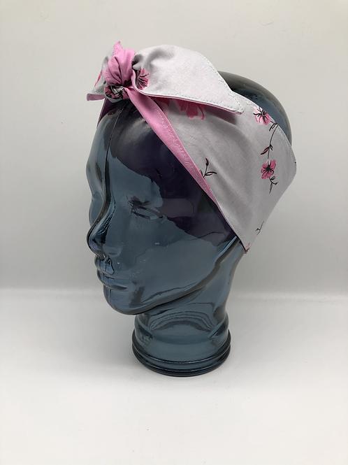 Rose Blossom Headscarf