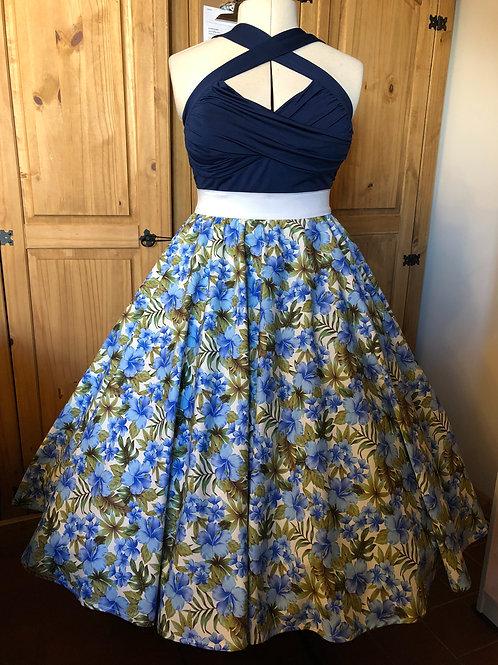 Blue Hawaiian Emily Elasticated Waist Skirt