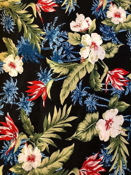 Tropical Flowers Florence Skirt