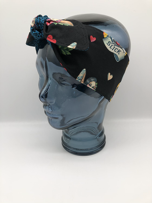 Alexander Henry 'Don't Gamble With Love' Headscarf