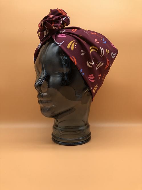 Dot Dash Twisted Turban