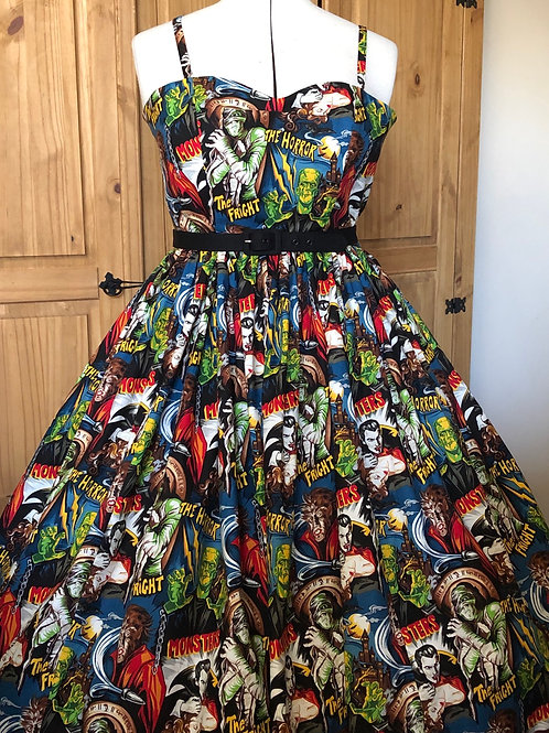 Pleasures & Pastimes Anya Dress Size 10