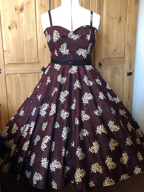 Wine Rose Anya Dress Size 12