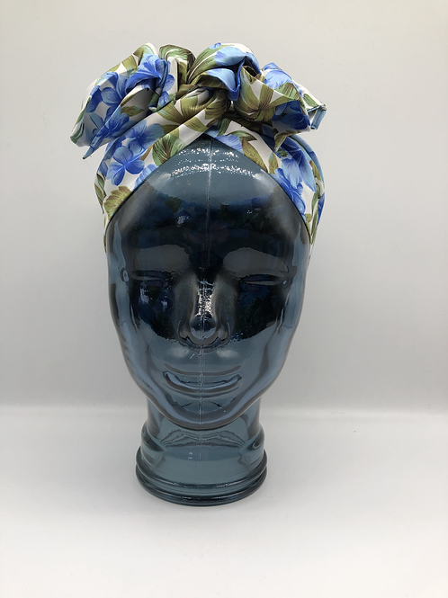 Blue Hawaiian Twisted Turban