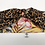 Thumbnail: Tropical Leaf Leopard Print Headscarf