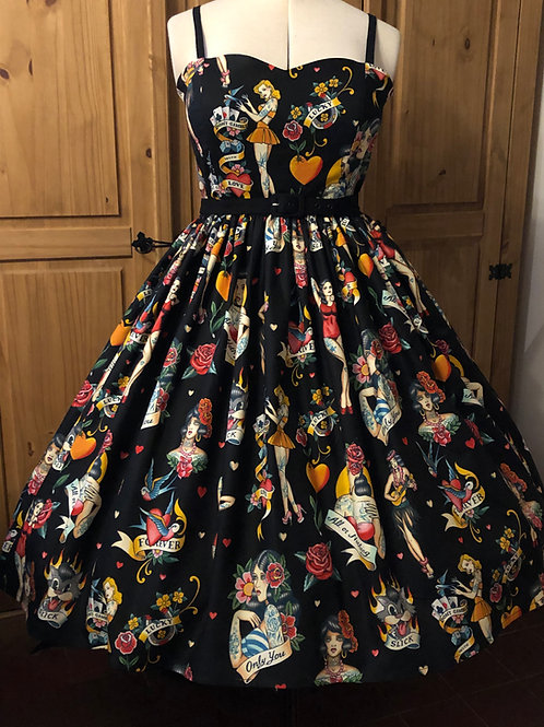 Alexander Henry Fabric Anya Dress