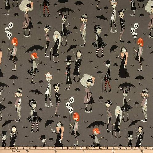 Alexander Henry 'Going Goth' Gertie Skirt