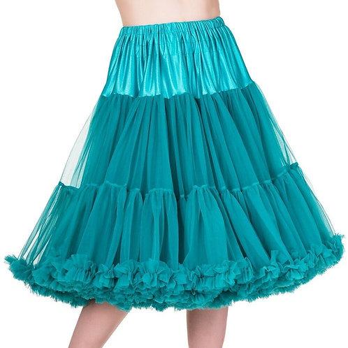 Emerald Chiffon Petticoat XL/2XL