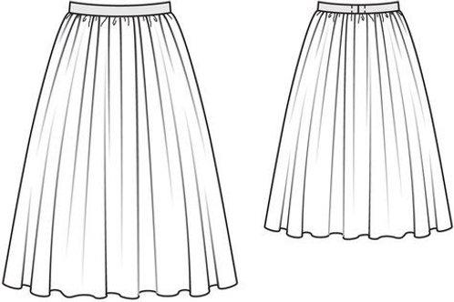 Hibiscus Gertie Skirt