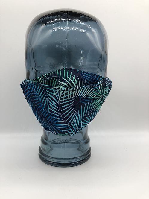 Tropical Fern 3D Face Mask
