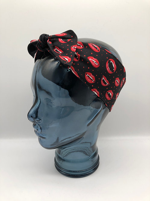 Vampire Lips Headscarf