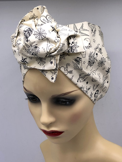 Alexander Henry 'Ink Works' Twisted Turban