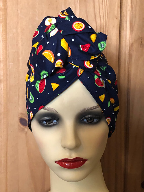Fruit Cocktail Twisted Turban