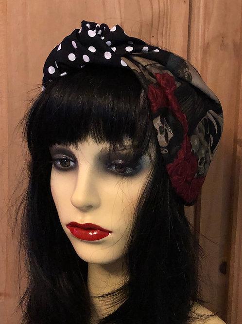 Alexander Henry 'Las Elegantes' Knotted Headscarf