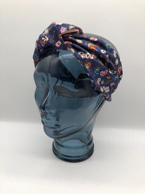 Wonderland Knotted Headscarf