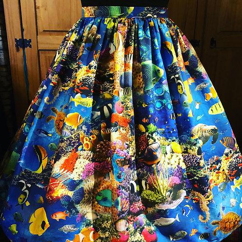 Tropical Fish Gertie Skirt