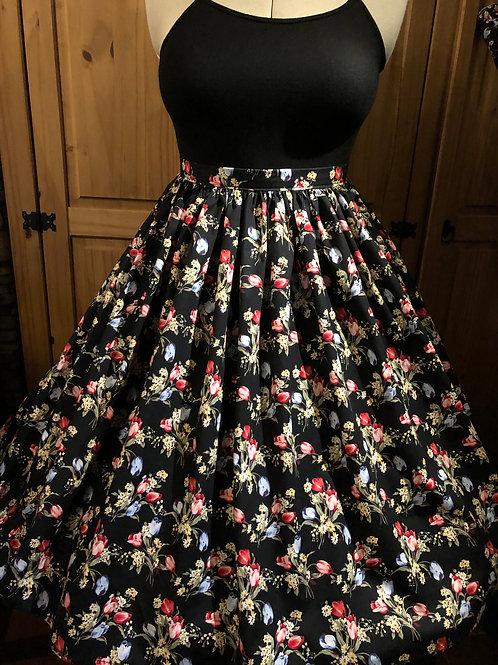 Tulip Bouquet Gertie Skirt