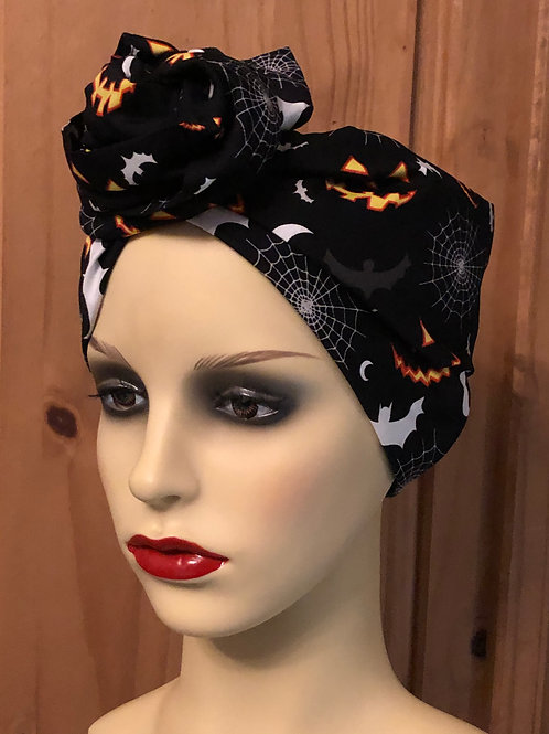 Halloween Night Twisted Turban