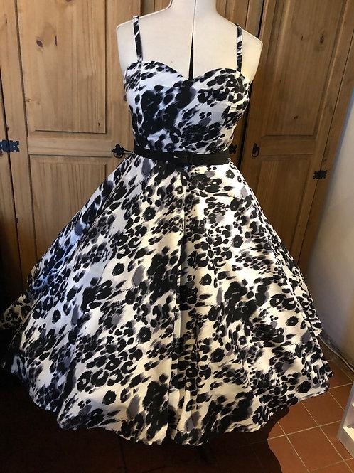 Snow Leopard Anya Dress Size 12