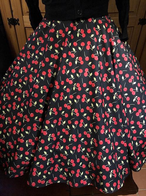 Cherry Cola Florence Skirt