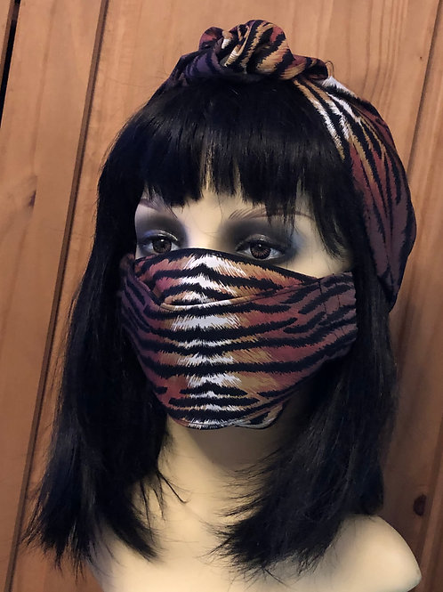 King Tiger 3D Face Mask