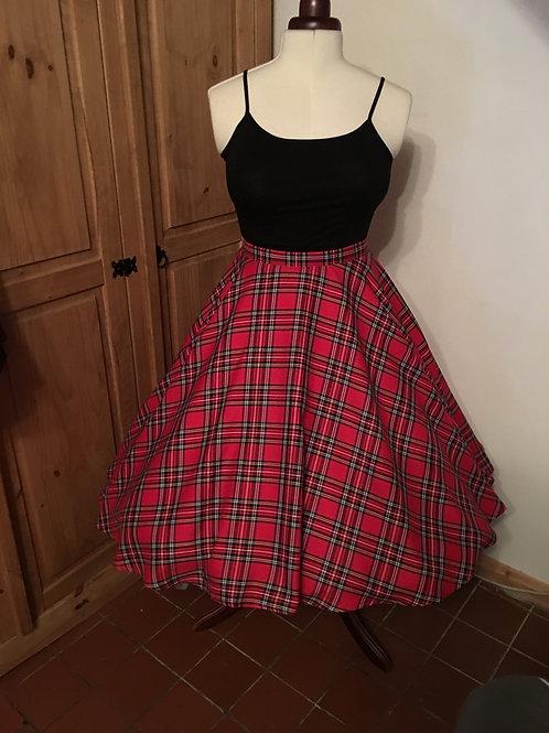 Royal Stewart Tartan Florence Skirt