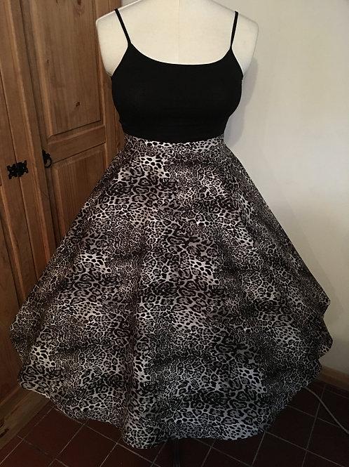 Lynx Leopard Florence Skirt