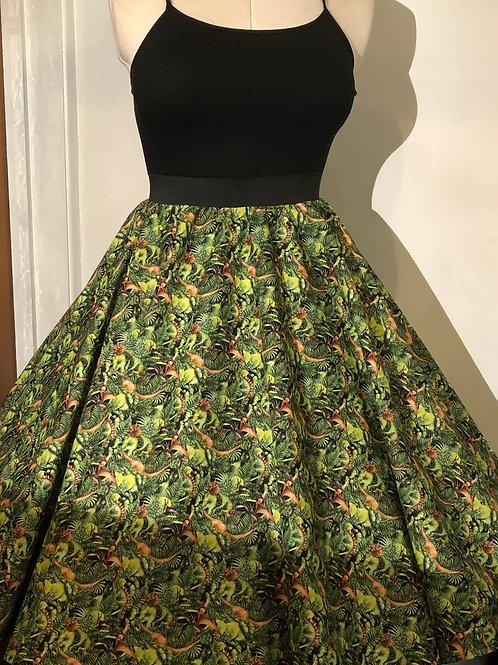 Dino World Emily Elasticated Waist Skirt 12/14
