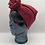 Thumbnail: Crimson Cotton Twisted Turban