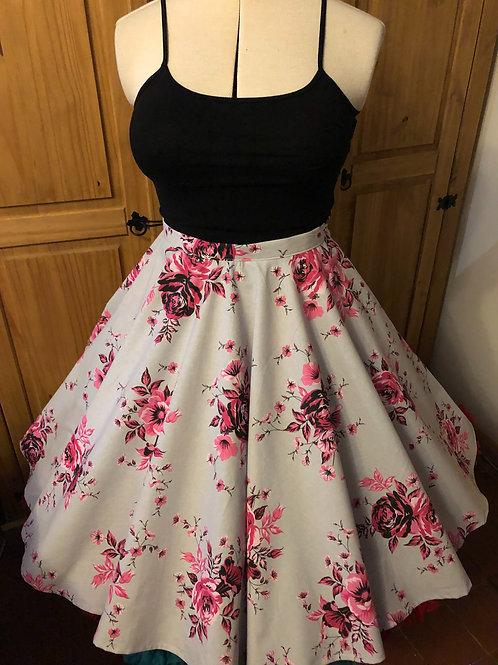 Rose Blossom Florence Skirt Size 6 (Petite)