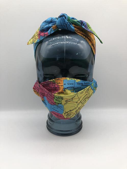 Bon Voyage 3D Face Mask