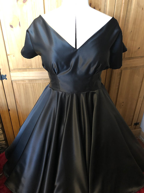 Duchess Satin Megan Dress