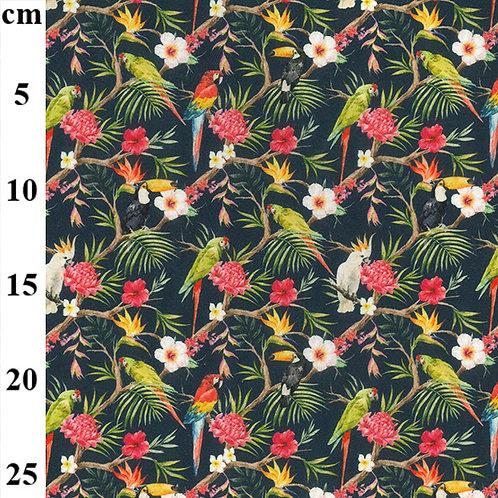 John Louden Jungle Birds 100% Cotton
