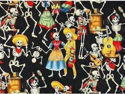 Day Of The Dead Jayne Sarong Dress